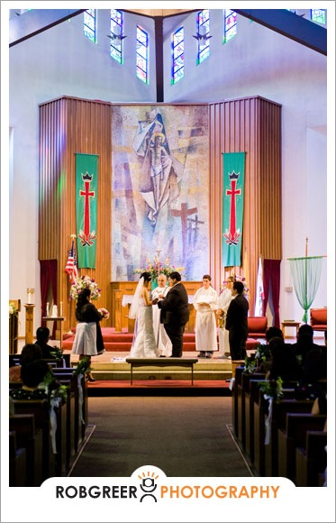 Our Lady Of The Miraculous Medal Wedding Rob Greer