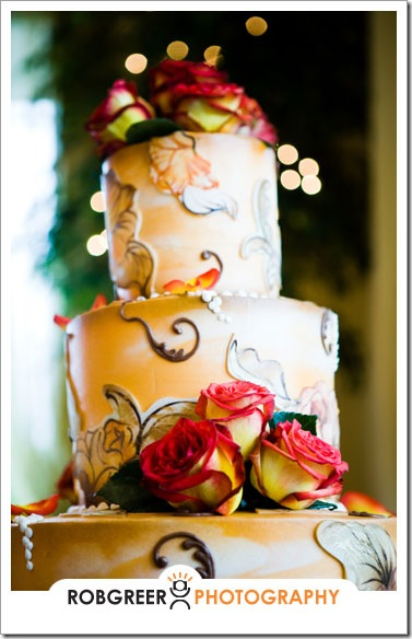 Moorpark Country Club Wedding Cake