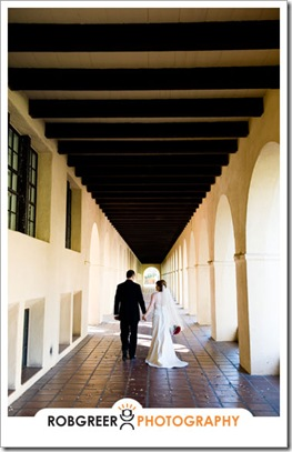 Caltech Wedding Arches