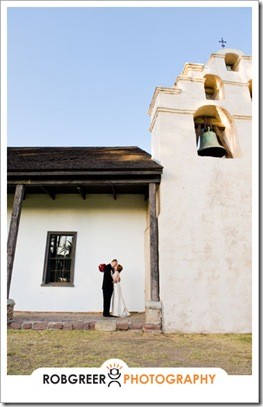 San Gabriel Mission Wedding