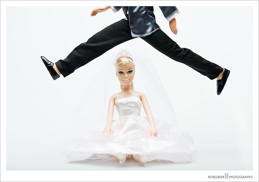 Barbie Ken Doll Wedding Portraits Rob Greer Photography