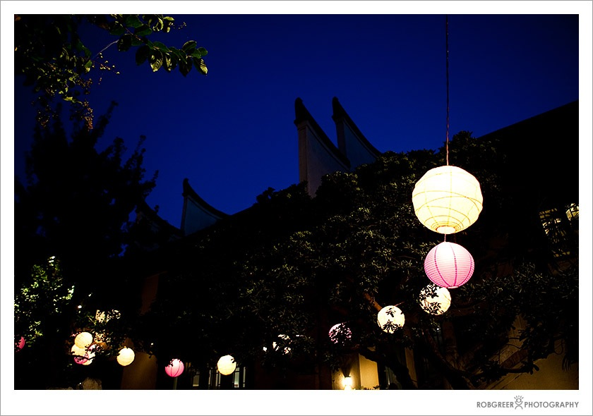 Paper Lanterns at the Pacific Asia Museum in Pasadena