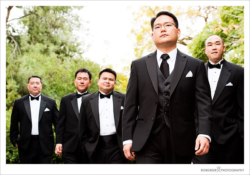 Wedding Photographer Does Reservoir Dogs