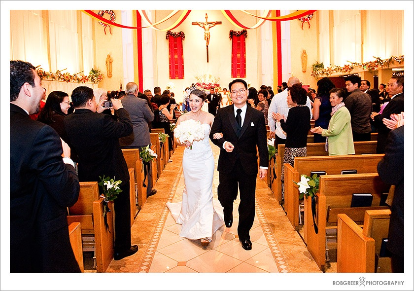 Recessional at St. Christopher Catholic Church
