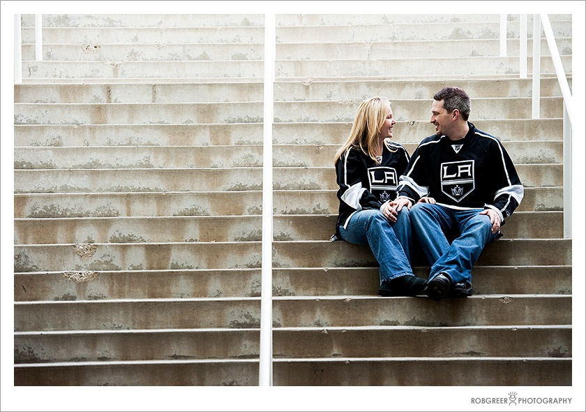 Engagement Photography - Staples Center