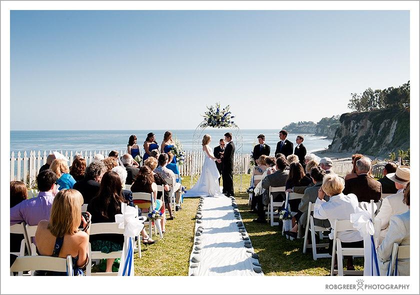 malibu country inn amp paradise cove wedding in malibu rob