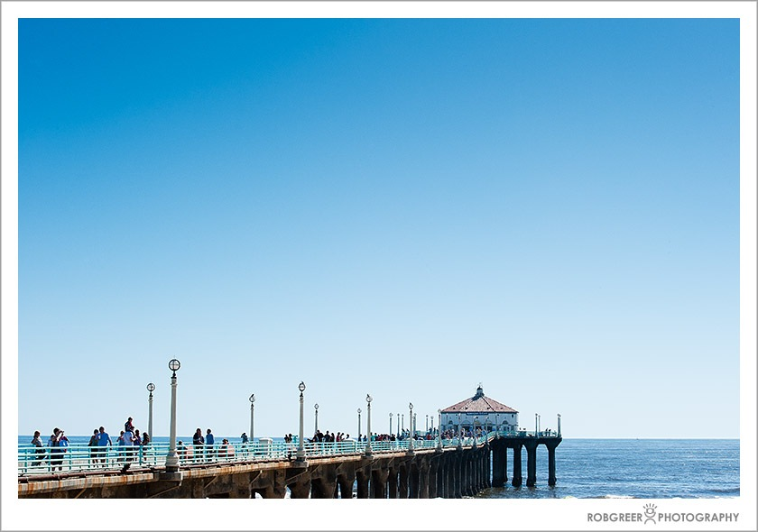 Manhattan Beach Pier in Manhattan Beach, California