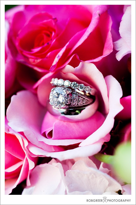 Rings, Diamonds, and Flowers