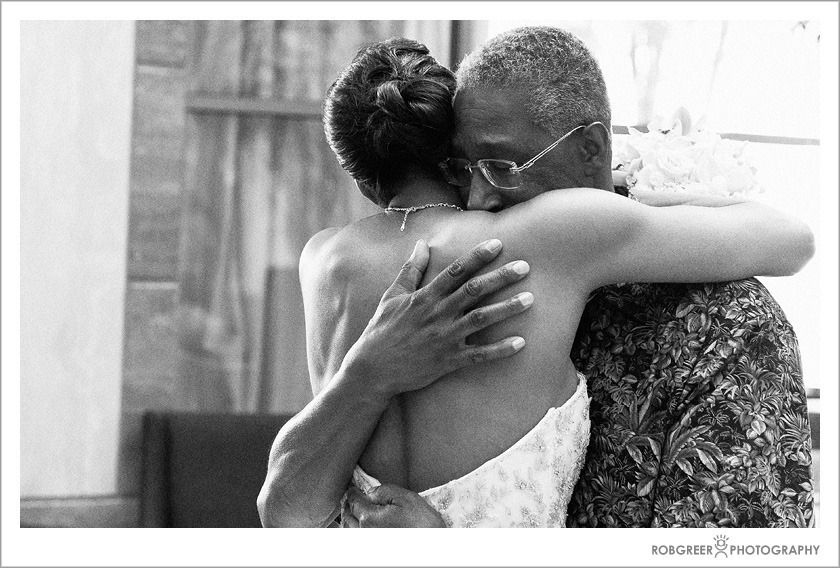 Los Angeles Wedding Photographer Captures Father